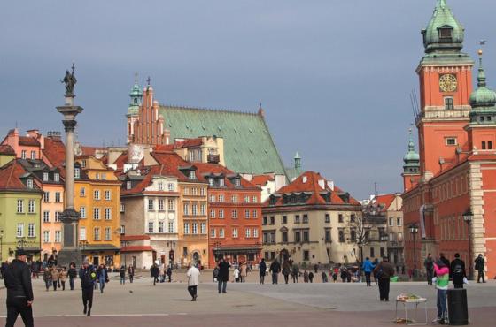 Bieganie po Warszawie vol. 1