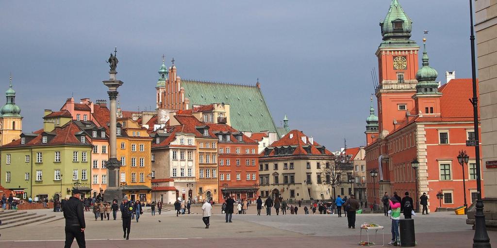 Bieganie po Warszawie