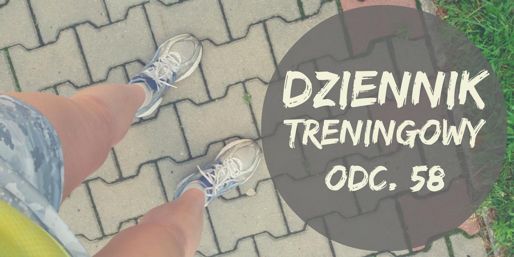 Napis Dziennik treningowy i nogi biegacza