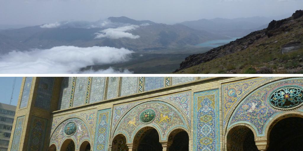 Zdjęcie gór Iran i Teheranu