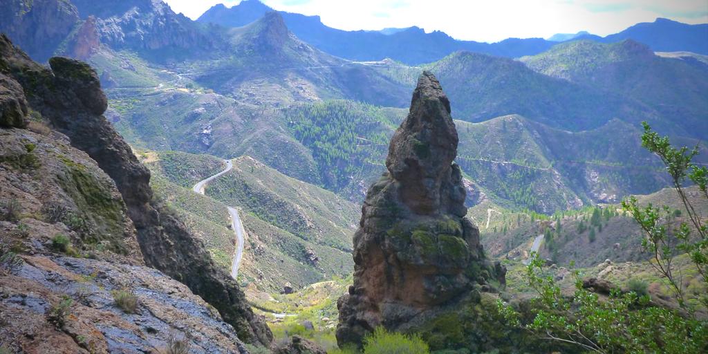 Gran Canaria widok na góry