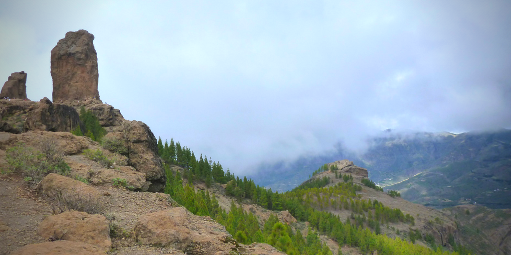 gran canaria widok góry