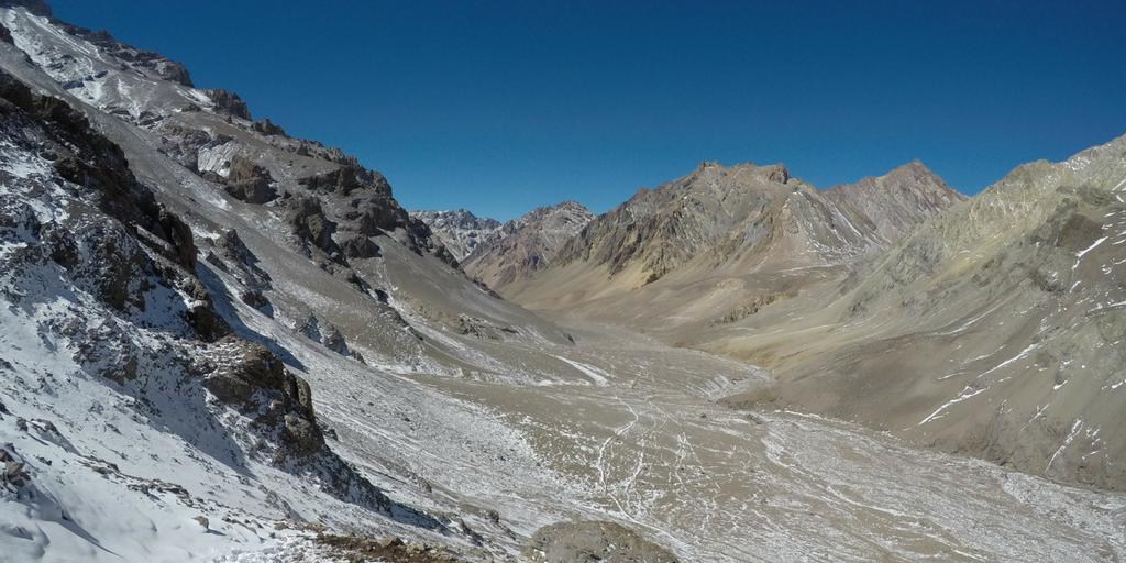Dolina Horcones Aconcagua