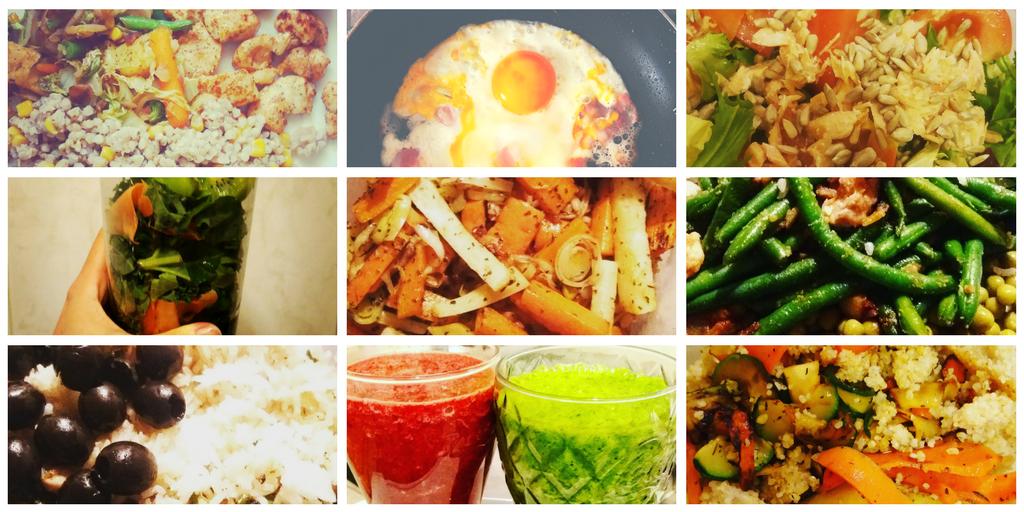 Zdjęcia moich posiłków