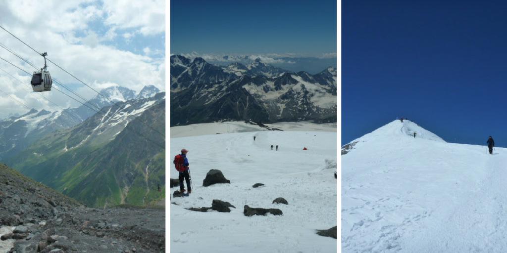 Trzy zdjęcia z wyprawy na Elbrus