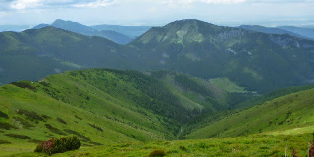 Widok Tatry Zachodnie