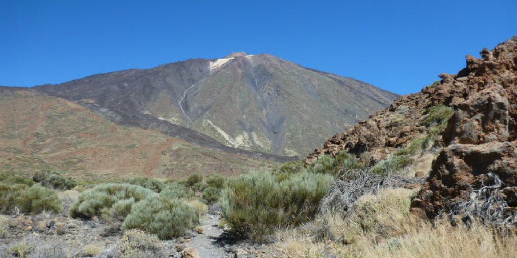 Szczyt Pico de Teide