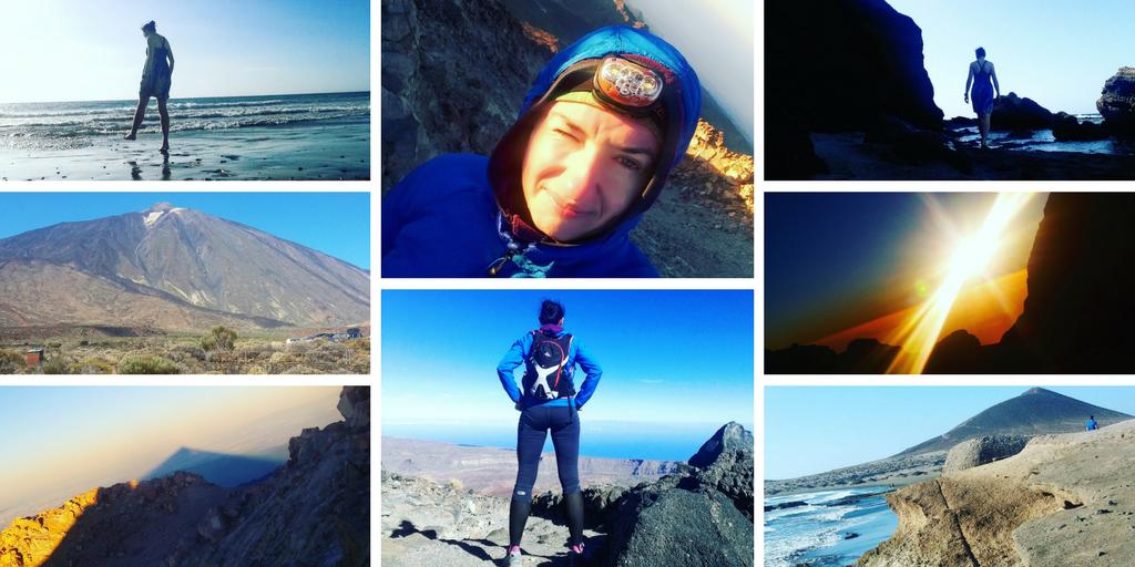 Rózne zdjęcia z mojego wyjazdu na Teneryfę: z Pico de Teide i plaży