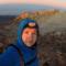 Ja na szczycie Pico de Teide