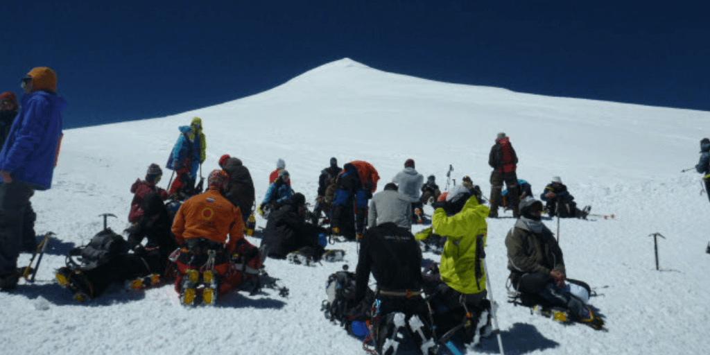 Elbrus - moje błędy