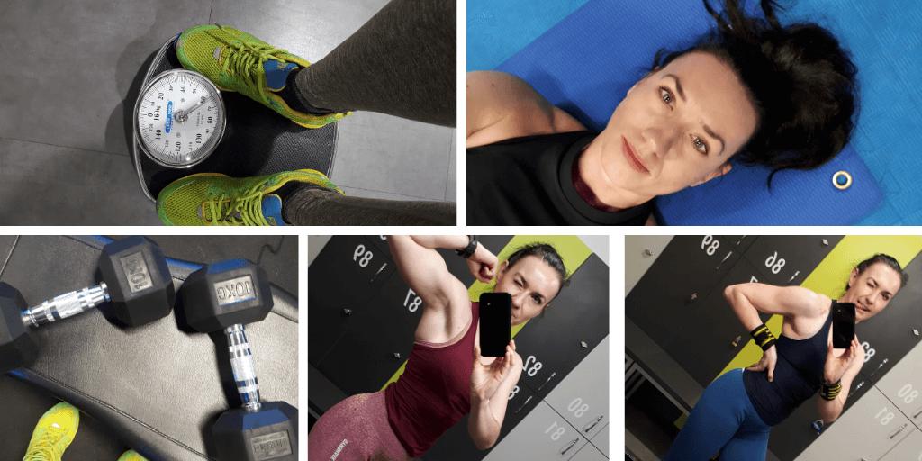 Dziennik treningowy 68 siłownia