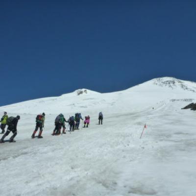 Elbrus/Rosja 2015
