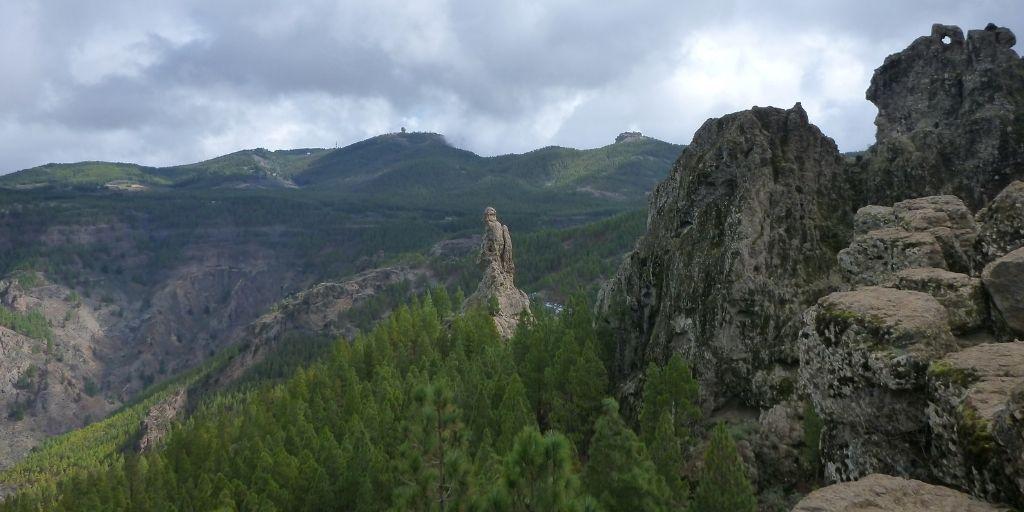 Gran Canaria - Widok na góry