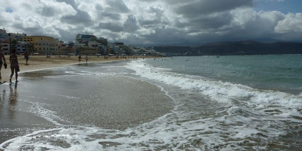 Gran Canaria - plaża Las Palmas