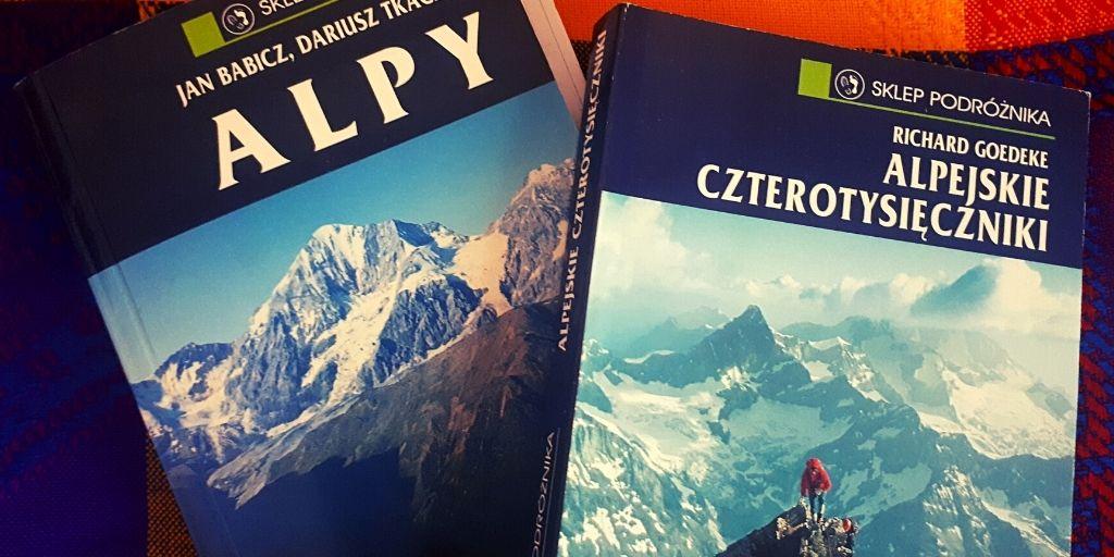 Dwa przewodniki o Alpach